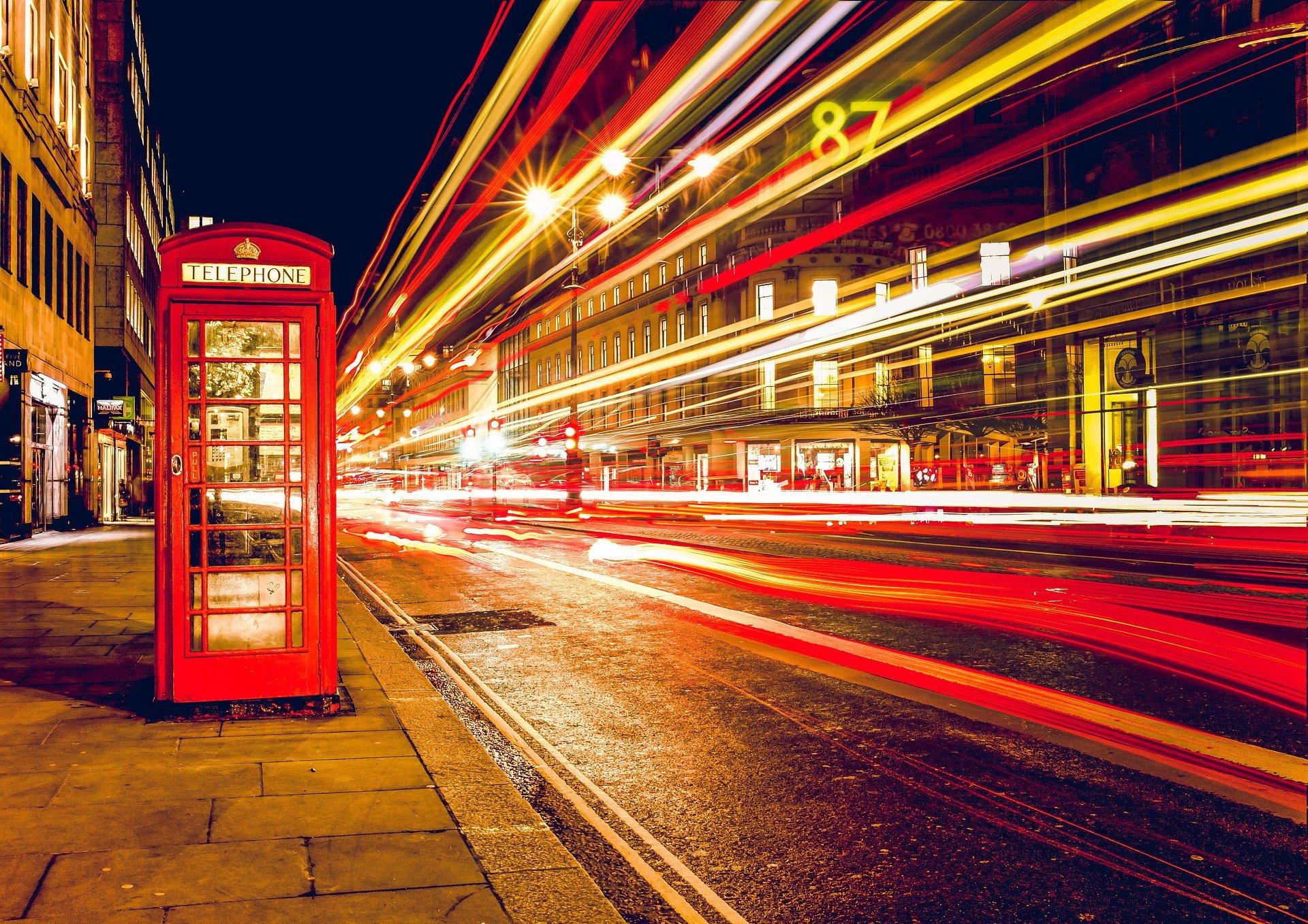 Telefonkabine London